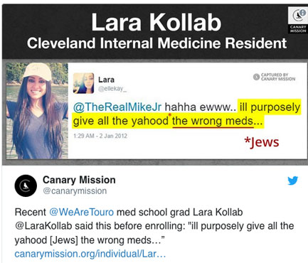 Ohio: Antisemitic Doctor Who Said She'd Give Jews The Wrong