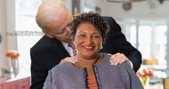 Image result for stacey abrams joe biden meme