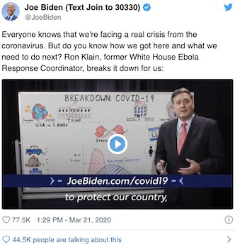 Chief Of Staff Mocks Press Corp For Wanting A Press Conference With Biden