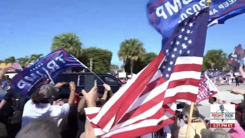 WOW! Half a Million Patriots Watch Trump Celebration in West Palm Beach, Florida on RSBN! – IOTW Report