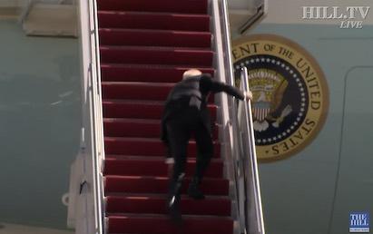 Biden Mocks Trump Stumble On West Point Ramp, 'Watch How I Run Up Ramps' – IOTW Report