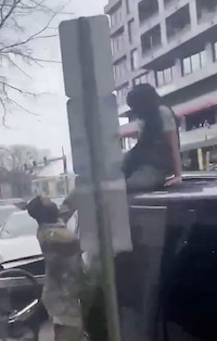Horrendous and Horrifying Video of Two Thug Girls Stealing an Uber Car From Elderly Driver in D.C.- And KILLING HIM