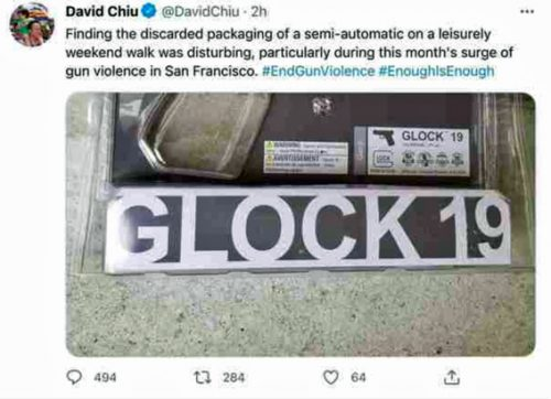 Does California assemblyman David Chiu really think guns are sold in blister packs inside chain stores? – IOTW Report
