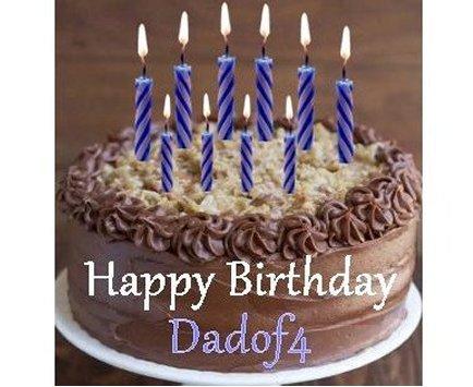 Happy Birthday, Dadof4!
