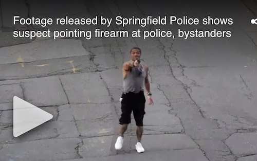 Criminal makes mockery out of MA gun laws, waves gun around as cops chase him through streets – IOTW Report