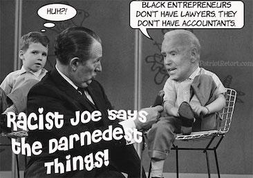 Racist Joe strikes again – IOTW Report